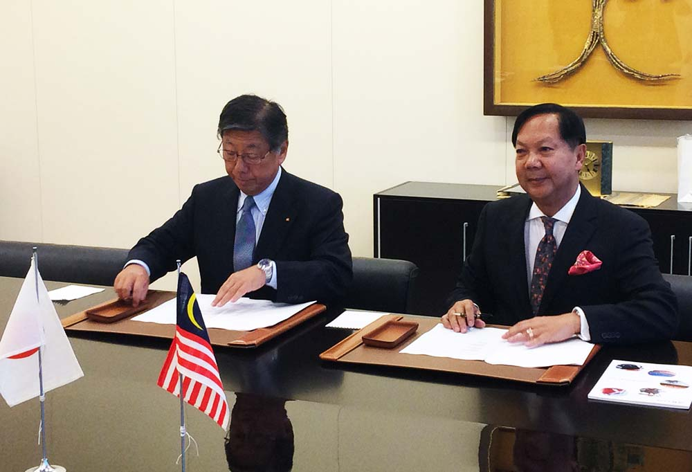 Halim Mazmin Group | Signing of Joint Venture with K Line of Japan