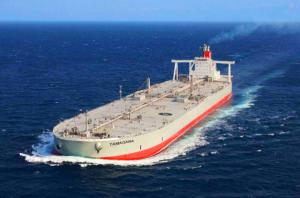 "Tamagawa, Crude Oil Tanker – 160,133 DWT – Photo courtesy of ""K"" Line"